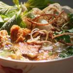 Bánh đa cá Quỳnh Côi – đặc sản Thái Bình.