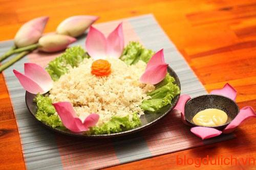 Quan ăn chay ngon tại Hà Nội