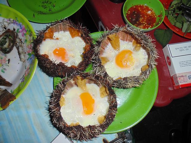 Nhum nướng Nha Trang
