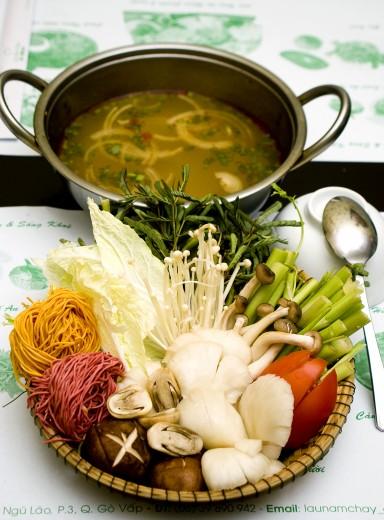 Quán ăn chay ngon tại Hà Nội