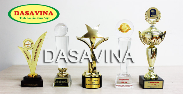 Thương hiệu DASAVINA đạt được nhiều danh hiệu vinh danh trong lĩnh vực ẩm thực