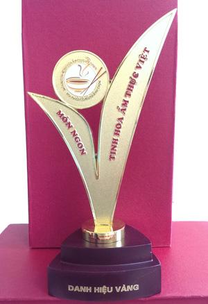 Cup vàng món ngon tinh hoa ẩm thực Việt 2014