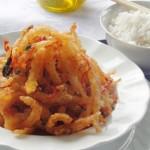 Ngon rẻ với cá cơm chiên mắm ớt