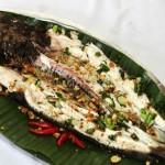 Món cá lóc rang muối