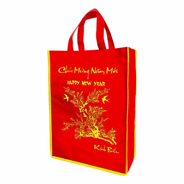 Túi quà bằng vải đựng được nhiều món quà có kích thước khác nhau